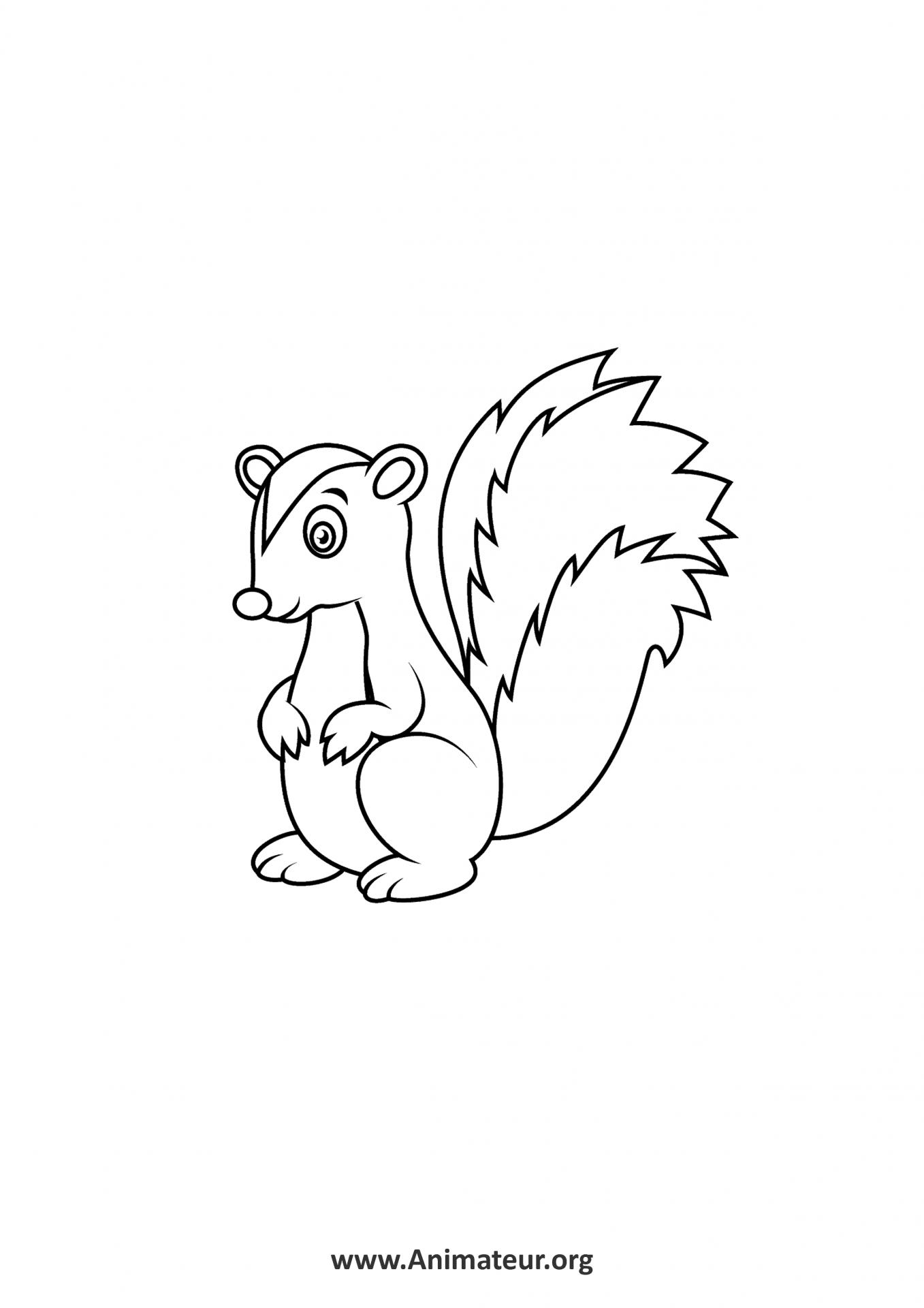 Coloriages d'animaux à imprimer gratuitement pour les enfants
